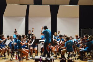 Students in the Orchestra Project Summer Camp