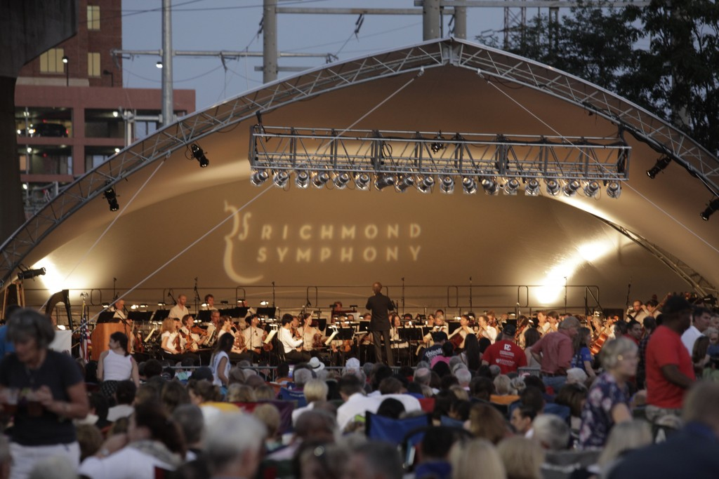 Richmond Symphony UCI Opening Ceremony 3